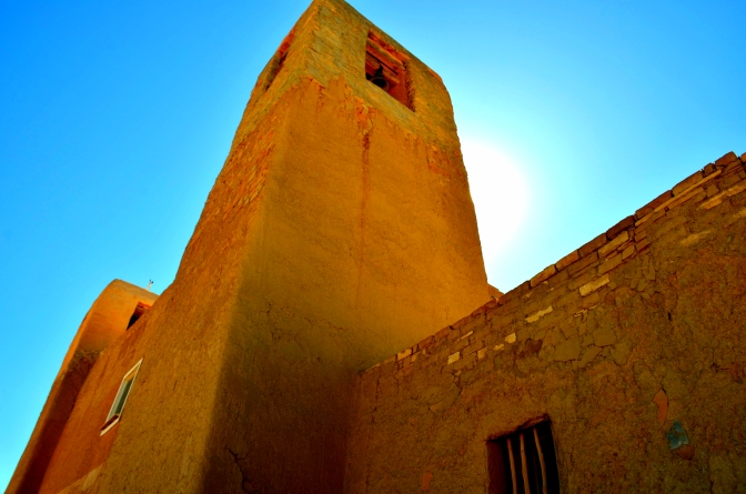 Church Bell, Acoma Sky City, Sandstone Mesa