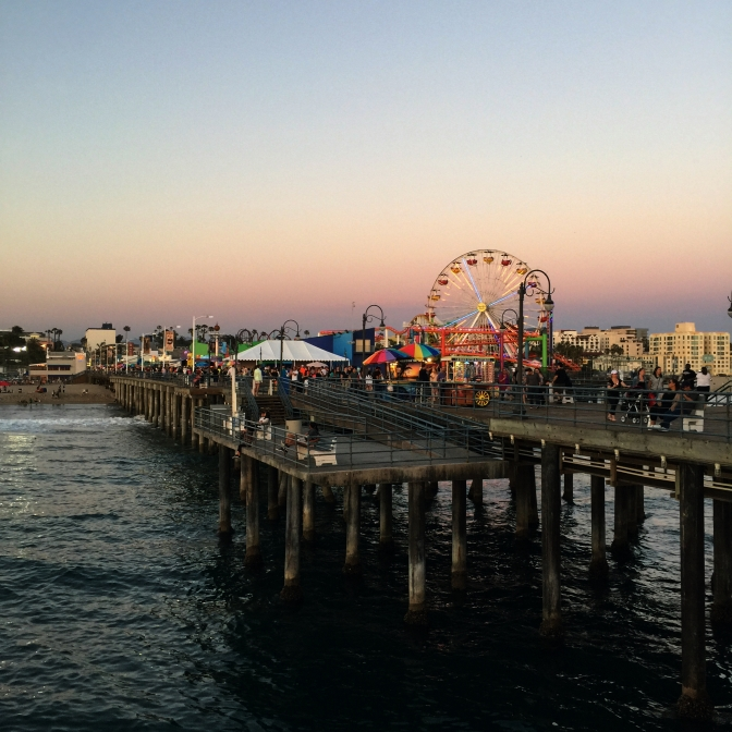 Santa Monica Pier, Route 66, Route66, California