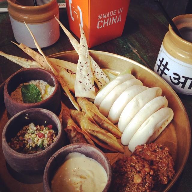 Mediterranean, Bangalore, Hummus, Social