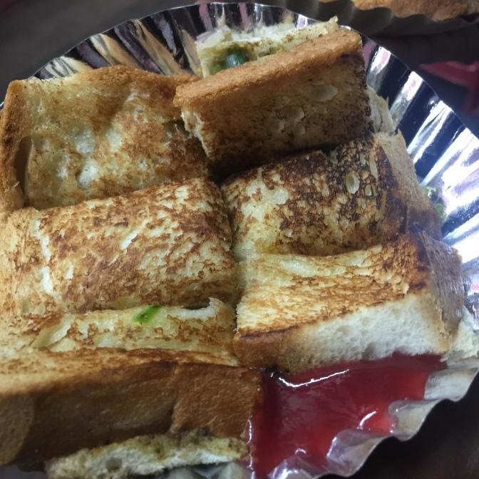 sandwich, bangalore, street food, hari's